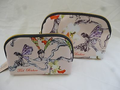 Ted Baker   Fairy & Floral Pattern  Wash Bag & Cosmetic Purse