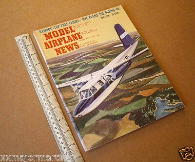 June 1956 Vintage Model Airplane News USA. Some Great Engine Ads & Plans
