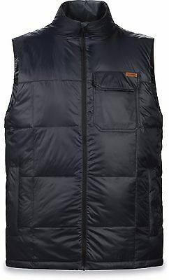 Dakine BRIGHTWOOD VEST  Mens Down Snowboard Ski Vest Size Large Black NEW Sample