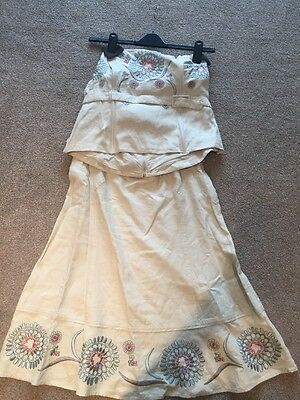 Ladies Skirt And Top Size 14/16