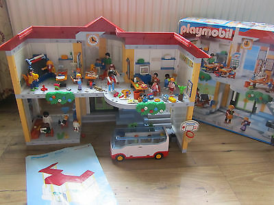 Playmobil 5923 School With Loads Of Figures Accessories & Extras Boxed