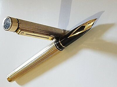 Pluma Sheaffer Gold Electroplated Usa.