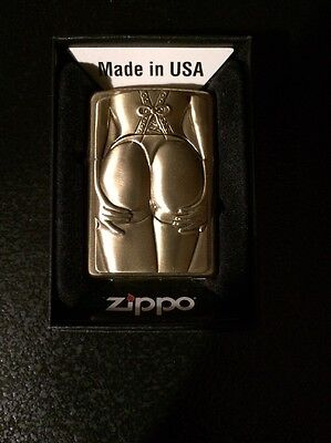 Zippo Lighter Golden Stocking Girl Limited Edition 2012