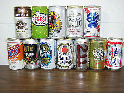 Black Labe- Lite- Andeker -Genesseel - Pabts - All These Cans For One Price.