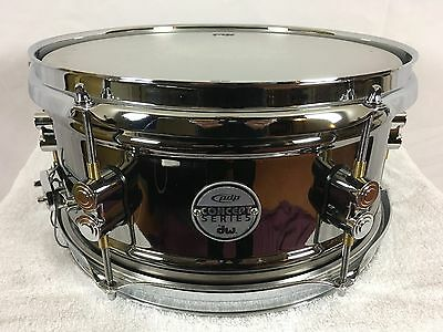 PDP by DW Concept Black Nickel over Steel Snare Drum 12x6
