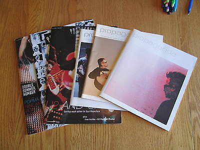 Set of 6 U2 Propaganda Fan Club Magazines