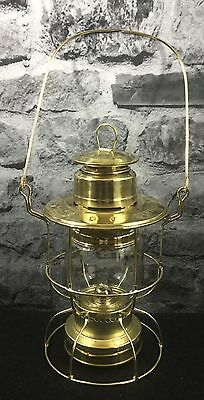 Norfolk Southern Central Division Brass Oil Lamp