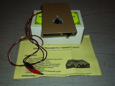 Magneto Ignition Timer, Test Box, For Sprint Car Or Midget Race Car
