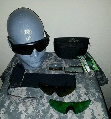 Revision Sawfly eyewear system 4 lense system. Smoke, clear, green, yellow