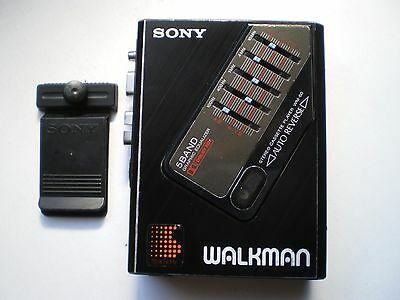 Vintage Sony WM-60 Walkman cassette player with 5 band equalizer