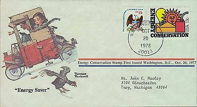 1978 - Norman Rockwell - Commemorative Society - Energy Saver