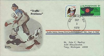 1978 - Norman Rockwell - Commemorative Society - Traffic Problems
