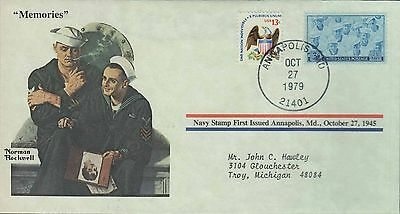 1979 - Norman Rockwell - Commemorative Society - Memories