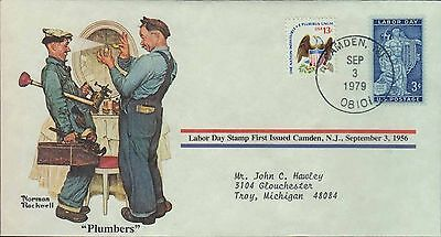 1979 - Norman Rockwell - Commemorative Society - Plumbers