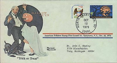 1979 - Norman Rockwell - Commemorative Society - Trick Or Treat