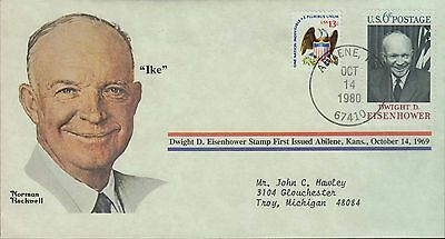 1980 - Norman Rockwell - Commemorative Society - Ike