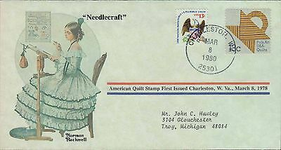 1980 - Norman Rockwell - Commemorative Society - Needlecraft