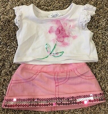 Build A Bear T Shirt And Skirt