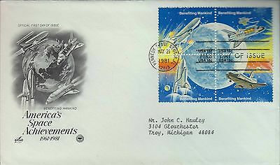1981 - Benefiting Mankind - Americas Space Achievements - Kennedy Space Center