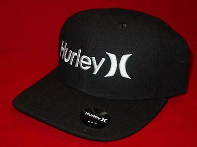 New Licensed  Hurley One & Only MIDNIGHT BLACK Youth Size Adjustable Hat __B107