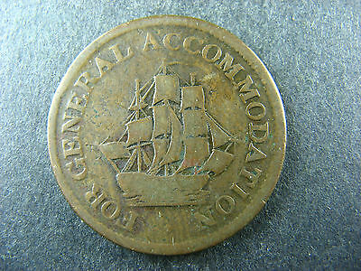 Canadian Colonial token #19 PART OF A 57 LOTS TOKENS AUCTION // you identify it