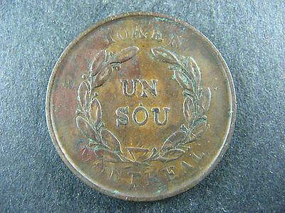 Canadian Colonial token #57 PART OF A 57 LOTS TOKENS AUCTION // you identify it