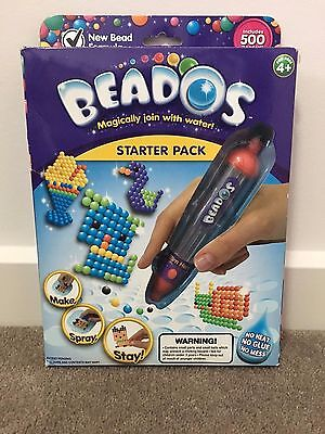 Beados Starter Pack with 500 beados with gun spray and lots more!
