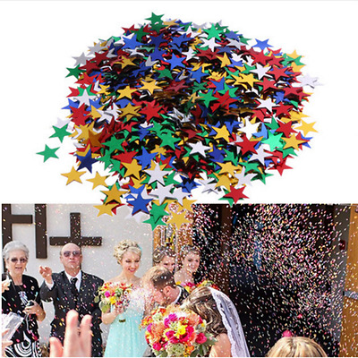 3000pcs Sparkle stars Confetti wedding Table Decoration Wedding Deocr Crafts New