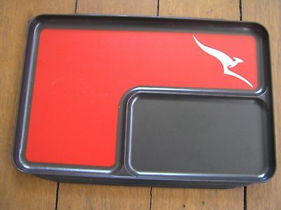 qantas airline business first class meal tray airways class lounge dish cup