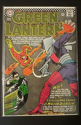 Green Lantern #43 Silver Age DC Comic-Flash & 1st appearance of Major Disaster