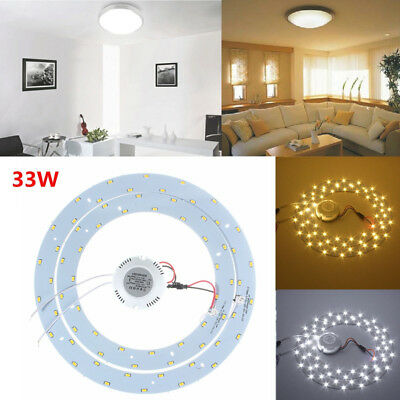 LED light 33W (15w+18W) Fluorescent Circular Tube replacement for Oyster Ceiling