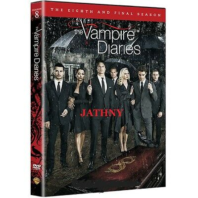 The Vampire Diaries: The Complete Eighth and Final Season 8 DVD Free Expedited