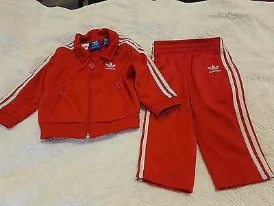 Adidas tracksuit baby girl or boy size 9-12 months