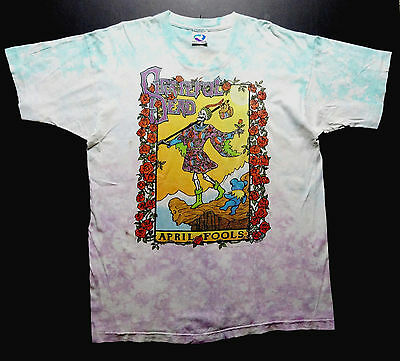 Grateful Dead Shirt T Shirt 1993 Vintage April Fools Tarot Cards New York GDM XL