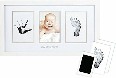 Pearhead Babyprints Newborn Baby Handprint and Footprint Photo Frame Kit
