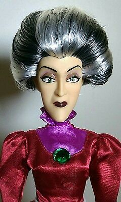 Disney Store Cinderella Lady Tremaine Evil Wicked Stepmother Doll