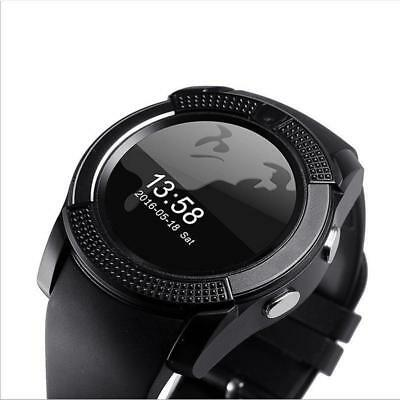 New V8 Wireless Smart Watch Phone Touch Bluetooth Wrist Watch for Android iOS