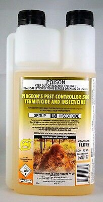 SUPERWAY Pidgeons Pest Controller TERMICIDE & INSECTICIDE 1LTR