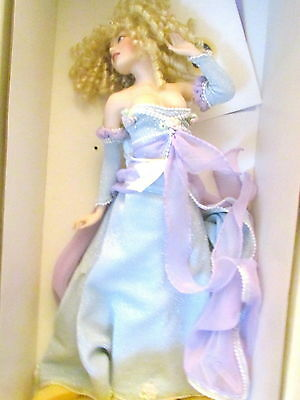 The Passions of Cinderella 16 Inch Franklin Mint Heirloom Doll Bernice Mowery