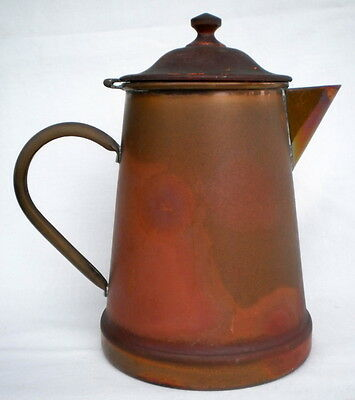 Collectable Vintage Douro B & M Made In Portugal Copper & Brass Tea/coffee Pot