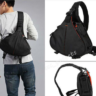 Camera Sling Backpack Digital DSLR Lens Bag Sling Shoulder For Nikon Canon Sony