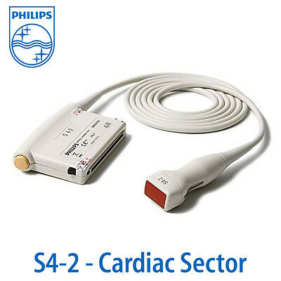 Philips S4-2 Probe - Cardiac Sector Array Transducer for HD11-XE HD7 HD6 HD5