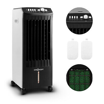 3 Different Models Air Cooler Fan Ice Packs Remote Portable Home Cooling Summer