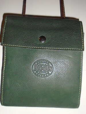 Roots Hanging Pouch German Green - Ltd Edition Olypics - $124Cad  Retail C.1980