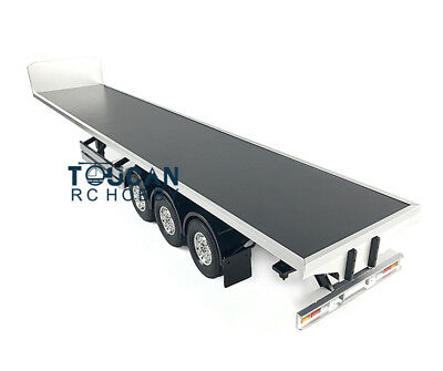 Hercules 140403 1/14 Scale Flatbed  Chassis for RC Semi Trailer Truck DIY KIT