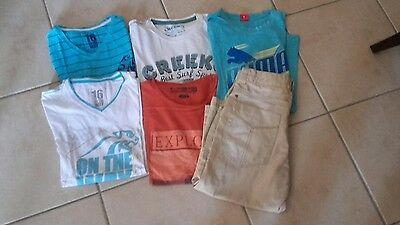 lot vetements ados garcon homme 16ans taille s