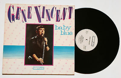 ♫ LP - GENE VINCENT: Baby BLue (1985, Castle Communications Ltd.)  ☠ Rockabilly