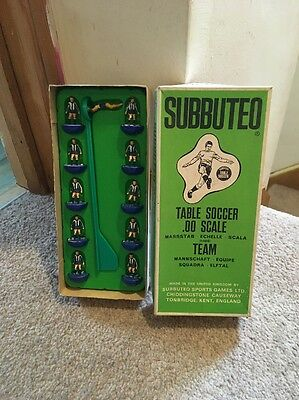 Vintage Subbuteo C.100 Brighton Or Chester Ref 51 Boxed