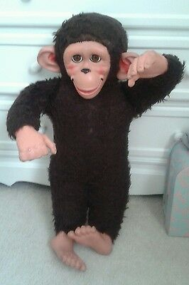 "Vintage Chad?Chiltern ? Jacko 22"" monkey ape chimp sleeping eyes"
