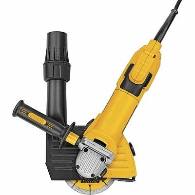DEWALT DWE46101 5-to-6-Inch Cutting and Tuck Pointing Dust Shroud Tool Kit by DE